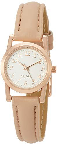 [フィールドワーク] 腕時計 アナログ ブラウニー 革ベルト ピンクゴールド AB006-6 レディース ピンク