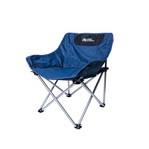 FGJKKRMI Tragbarer Camping-Stuhl - kompakte ultraleiche faltende Rucksackstühle, klein zusammenklappbarer Faltbarer packbarer Leichter Rucksackstuhl für Außen-, Lager, Picknick, Angelstuhl