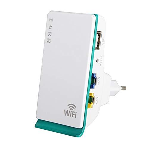KAR Enrutador, Amplificador De Señal WiFi Repetidor De Radio De Los 300M 3G4G Expansión De La Red del Router Promotor De Bolsillo Mini Amplificador para El Hogar del Recorrido del Enchufe De La UE
