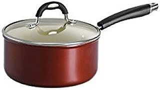Tramontina 80110/049DS Style Ceramica 01 Covered Sauce Pan, 3-Quart, Metallic Copper