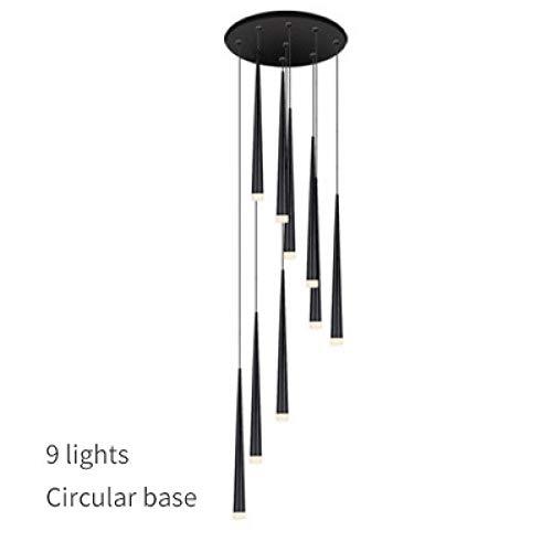 Moderner LED-Leuchter-langer Röhrenlampenleuchter-Inselrestaurant-Thekenleuchter