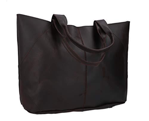 Gusti Shopper Leder - Cecilia Handtasche Ledertasche Braun Schultertasche