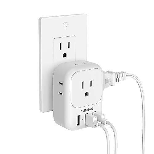 Multi Plug Outlet Extender with USB Only $10.39 (Retail $15.99)