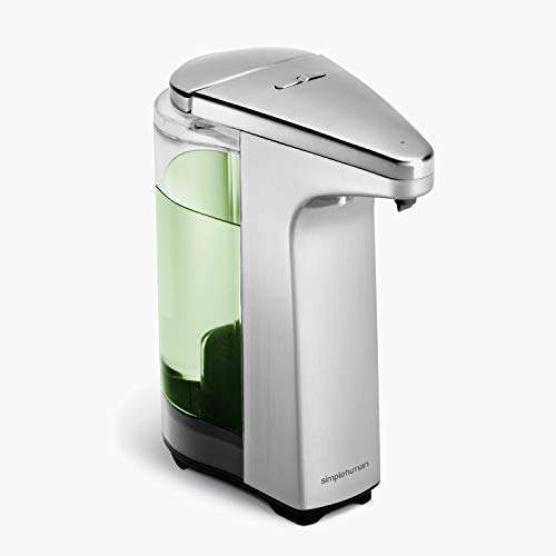 Beautiful Brushed Nickel Automatic Soap Dispenser