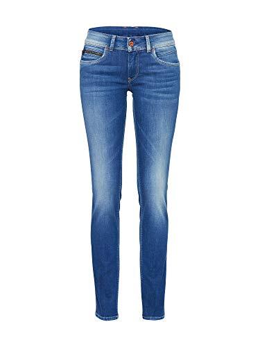 Pepe Jeans New Brooke PL200019 Jeans, Blu (Denim 100Z STR 8Dip Royal Dk D45), 27 W /30 L Donna