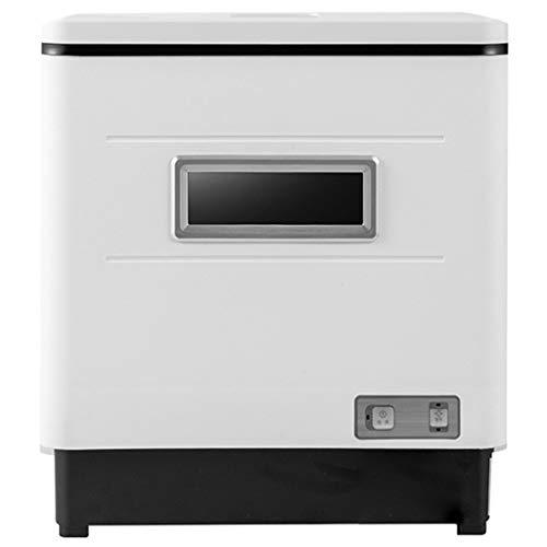 OCYE Lavavajillas domésticos, sin Necesidad de Instalar lavavajillas de sobremesa, utilizados en Apartamentos, desinfección a Alta Temperatura, caravanas y cocinas pequeñas (Blanco)