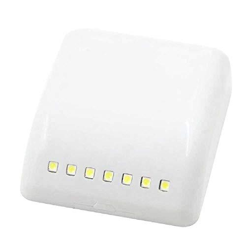 LED Universal Induktionssensor Lampe Schrank Schrank Scharnier Kleiderschrank Nachtbeleuchtung Licht Küche Schlafzimmer Wohnzimmer Weiß