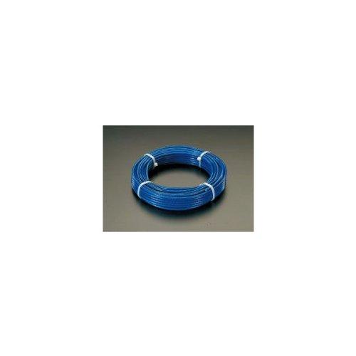 エスコ(ESCO) ワイヤーロープ(ステンレス製・PVCコート) 8/10mmx20m/7x19 EA628SN-82