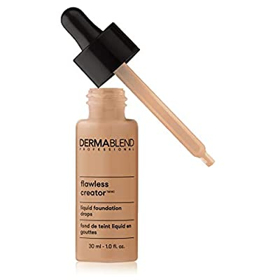 Dermablend Flawless Creator Multi-Use Liquid Foundation Makeup, Full Coverage Foundation, 43W, 1 Fl oz
