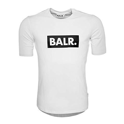 Bal. Klassiek mannen Club T-shirt met atletische pasvorm - zwart - wit - grijs - marineblauw
