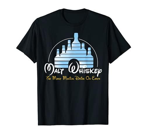 Malt Whiskey Shirt, Most Magical Drink Parodie Fun T-Shirt T-Shirt
