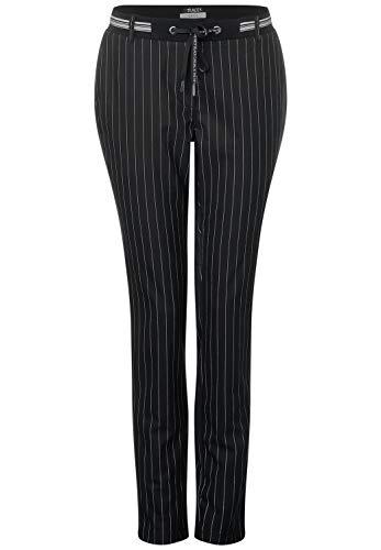 Cecil Tracey krijtstrepen-broek voor dames