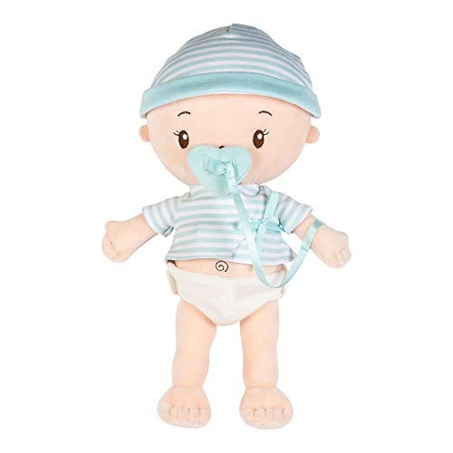 Adora My First Baby Doll Boy, 13 inch Snuggly & Huggable Doll with Ultra-Soft Squeezable Body, Magic Magnetic Pacifier & Diaper