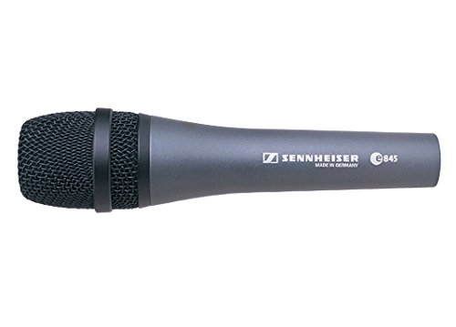 Sennheiser E845Dynamic Handmikrofon Vocalist Singer Mikrofon Wired DJ Disco