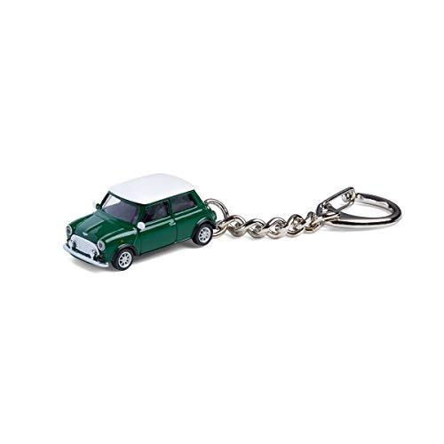 corpus delicti :: Schlüsselanhänger mit Mini Cooper British Racing Green Modellauto für alle Auto- und Oldtimerfans (20.9-11)