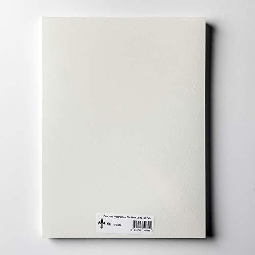 Fabriano AEW BL 4CO Papier aquarelle 35,5 x 51cm Extra Blanc