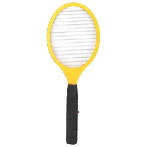 Niady Zanzare Electric Cordless Battery Electric Power Mosca zanzara Swatter Bug Zapper Racket Insetti Killer (Giallo)