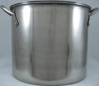 "Bene Casa Stock Pot 12 Qt. Stainless Steel 9.21"" Dia. X 7.32"" H"