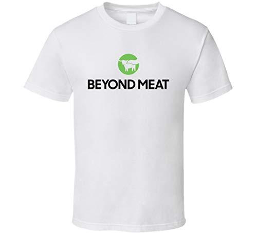 N/Y Beyond Meat NASDAQ Company Logo Employee Fan T Shirt Blanc - Noir - X-Large