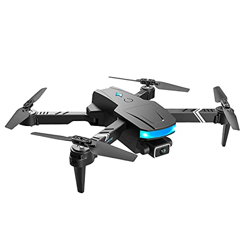 IPOTCH Drone GPS Pieghevole Drone Quadcopter a 4 Assi Gimbal Motor Brushless Dual Camera1,2 km, registra Ogni Momento - Due Lenti 4K 1 Batteria