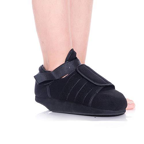 Pinkskattings@ Orthopädischer Spezialschuh Vorfußentlastungsschuh rutschfeste Atmungsaktives Medizinische Schuhe Schwarz,S(35~39)