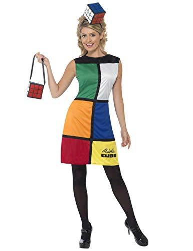 Women's Rubik's Cube Dress Costume, Sizes 6-8 US