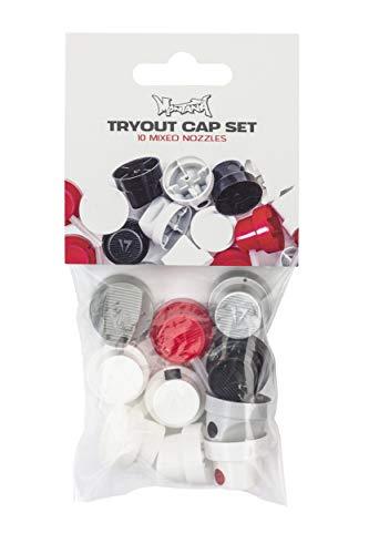 Montana Cans TRYOUT Cap Set Spray Caps, bunt, verschieden, 10
