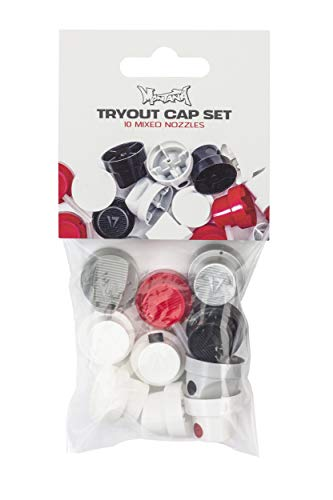 Montana Cans TRYOUT Cap Set Spray Caps, bunt, verschieden, 10