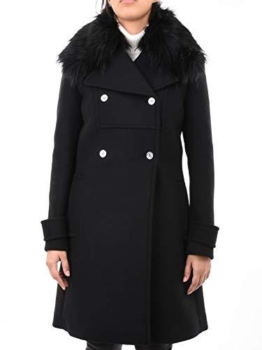 Michael Kors Luxury Fashion Damen MF82HVT9PY001 Schwarz Wolle Mantel | Herbst Winter 19