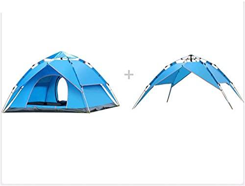 SHWYSHOP Carpas para Acampar Carpa para Acampar Carpa para la Playa UV emergente al Aire Libre Carpa Domo automática Carpa para protección Solar Familiar Carpa para Acampar al Aire Libre G