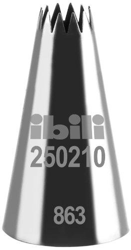 IBILI 250210 - Bocchetta per sac-à-Poche, a Stella multipunta, 10 mm