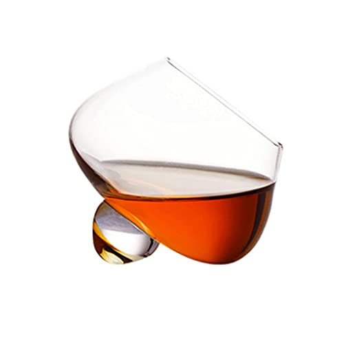 YKW Moda Irregular Whisky Glass Vintage Brandy Cocktail Cerveza Cerveza Copa Copa Barra de Vidrio Taza de Vino Coffe Ron Taza