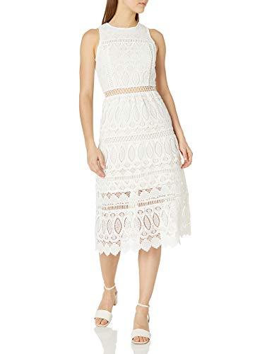 Joa Embroidered Dress