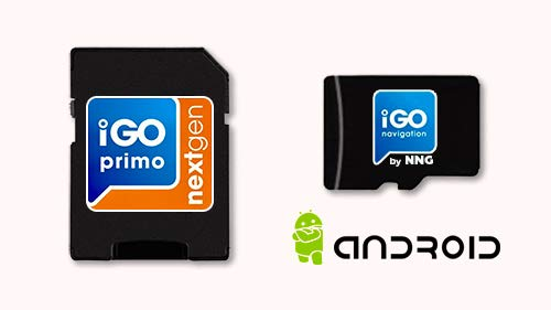 MicroSD Card with Android GPS Navigation Software iGO Primo NextGen 3D Map 2019 EUR/RUS/TUR/for PKW/Truck/Camper
