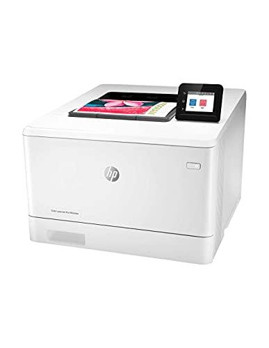 HP Colour LaserJet Pro M454dw Printer, White