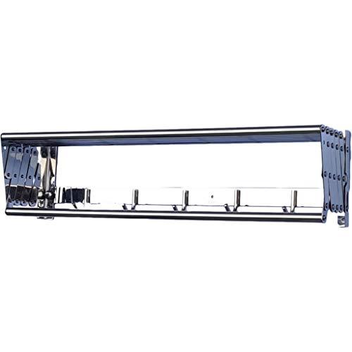 Jlxl Tendedero Pared Plegable Exterior Extensible Tendero De AcordeóN A Fuelle Tendedor PráCtico Tendal para Secar Ropa En El Lavadero Toallas