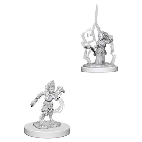 Pathfinder Deep Cuts Unpainted Miniatures: Wave 5: Gnome Female Druid