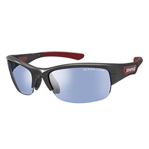 SWANS(スワンズ) スポーツ サングラス スプリングボック ミラーレンズモデル SPB-0714 BK ブラック×レッド ゴルフ ボールスポーツ 自転車 フィッシング 用