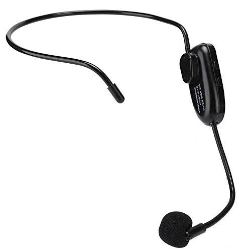 Micrófono Inalámbrico Profesional Uhf para Uso en La Cabeza para Computadora con Amplificador de Voz