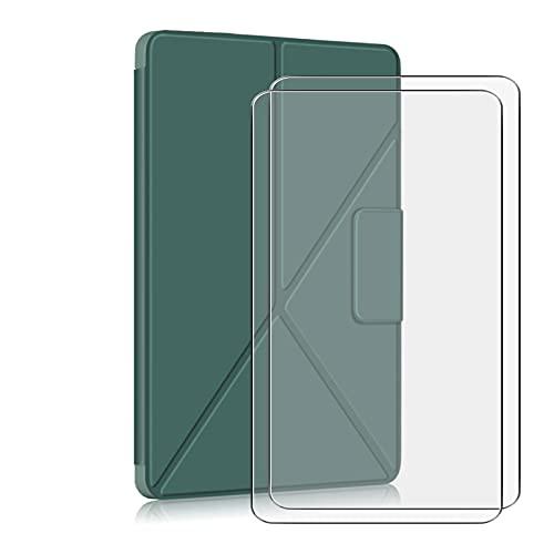 JIENI Funda para Lenovo Tab P11 Pro (11.50) Pulgadas, Funda Protectora anticaídas, Funda estabilizadora magnética + 2 Pieza de Protector de Pantalla