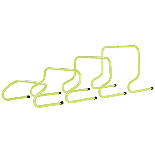 AmazonBasics Speed Training Exercise Hurdles, 4-Pack