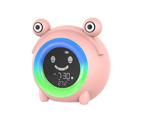Kids Clock, Alarm Clock, Sleep Trainer, Ok to Wake Clock, Clock for Kids, Digital Clock, Wake Up Light, Ready to Rise, Sleep Sounds, Clock, Night Light
