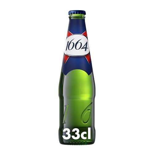 Cerveza Importada Premium K1664 Lager 24 botellas de 330ml c/u