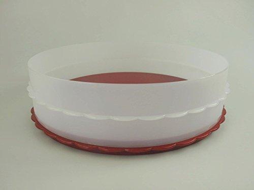 TUPPERWARE Exclusiv Hochstapler rot Kuchen Torte für Tortentwist Twist 9767