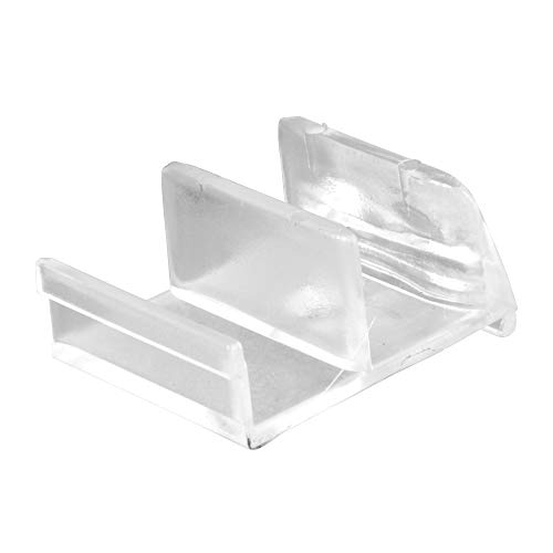 Prime-Line 193074 Shower Door Bottom Guide, Clear Acrylic