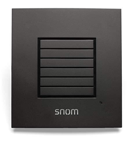 Snom M5 DECT Telefon Range Extending Repeater erweitert die Reichweite von M700 oder M300 Basisstationen, Reichweite ohne Ethernet erhöhen, bis zu 5 gleichzeitige Anrufe, Verkettung, Schwarz, 00003930