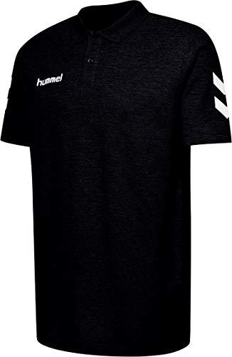 Hummel Herren Hmlgo Cotton Polo Hemd, Schwarz, 3XL EU