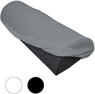 PETSOLA 2pcs Housse de Drap de Lit Matelas de Table de Massage pour Table de Massage Station Thermale 180x60cm Blanc//Gris