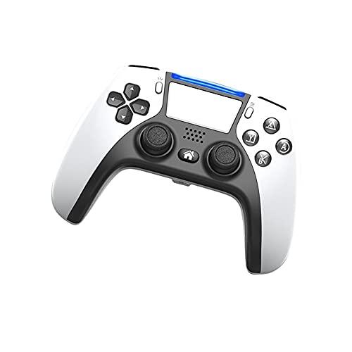 Lpzw Controlador de Juego inalámbrico Joystick Gamepad Double Vibration Double Vibration Control Remoto inalámbrico Joystick (Color : White)