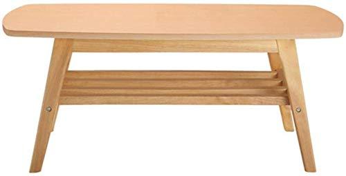 Mesa de centro rectángulo, mesa de madera del sofá de la sala de estar de la capa doble grande de la mesa de comedor residencial del contrato de la barra durable